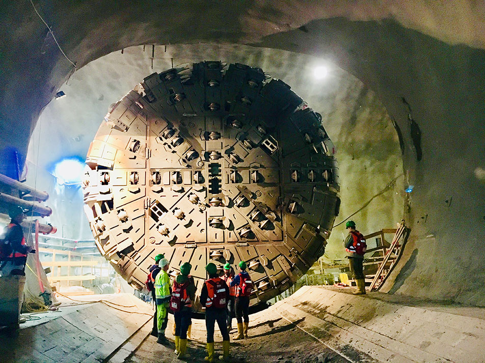 Two TBMs on the Semmering project in Austria are fitted with Mayr torque limiters