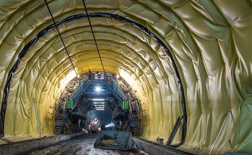 Brenner Base Tunnel under construction