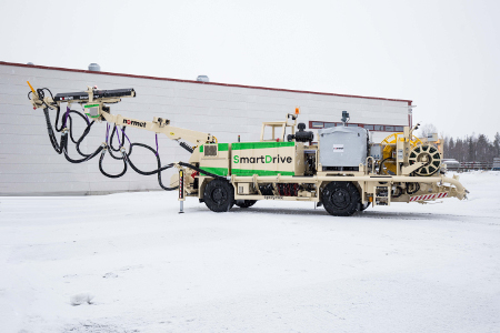 SmartSpray SmartDrive shotcreting from Normet