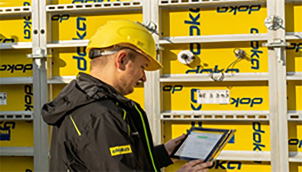 Doka Concremote makes it possible to draw conclusions about concrete performance and take the necessary construction steps at the right time