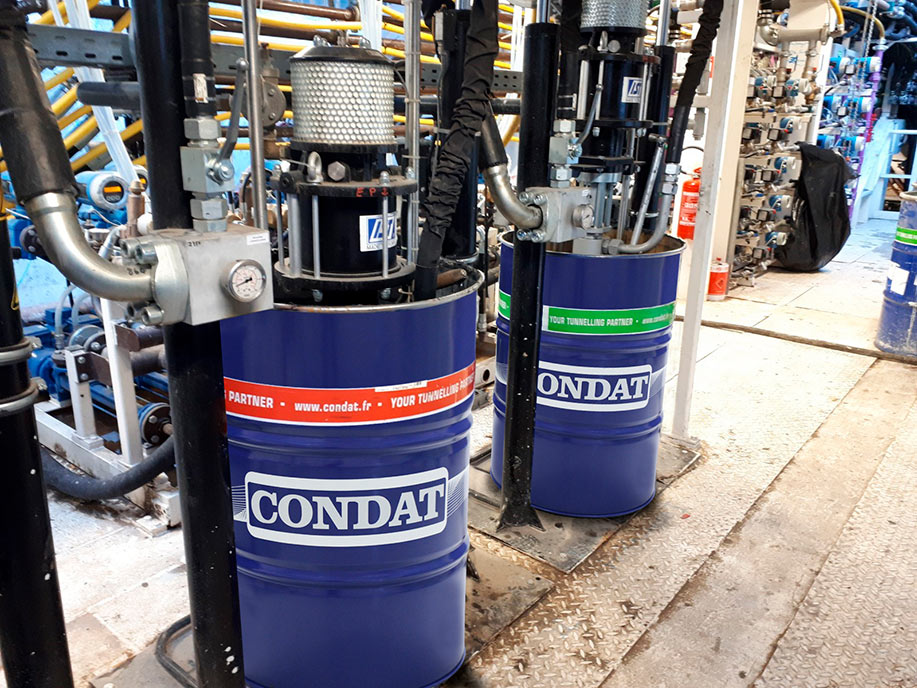 Condat products on vital TBM operation duty