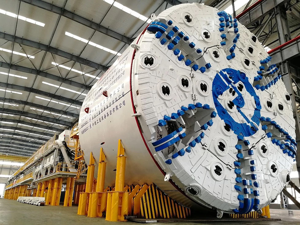 CREG TBM design for tough undersea drive