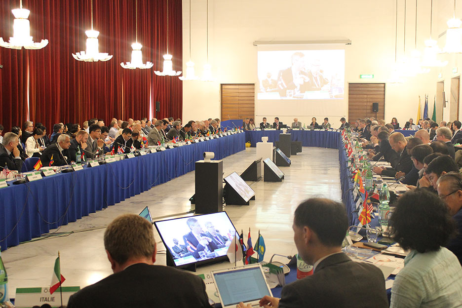 A new President and new ExCo members were elected by the 78 ITA Member Nations at the General Assembly