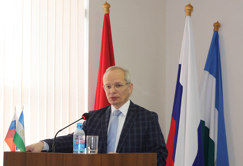 Rustem Mardanov, former Prime Minister of Bashkiria Republic, one of the main initiators for the project