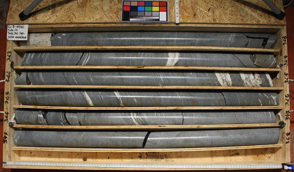 Core samples from Pfons-Brenner Lot