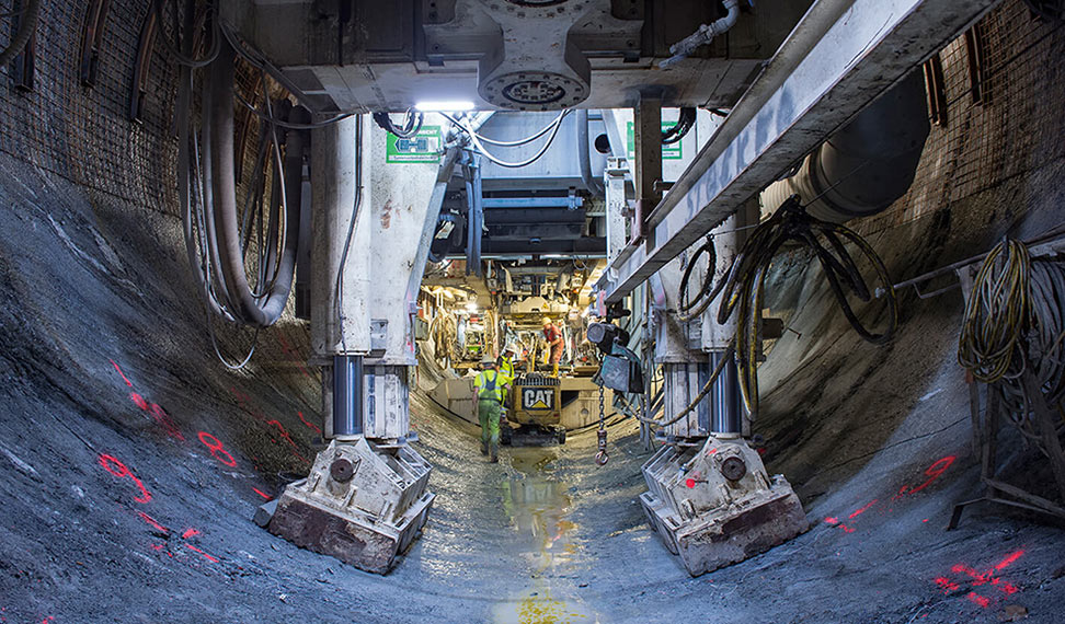 Tulfes-Pfons Lot TBM nears its end point