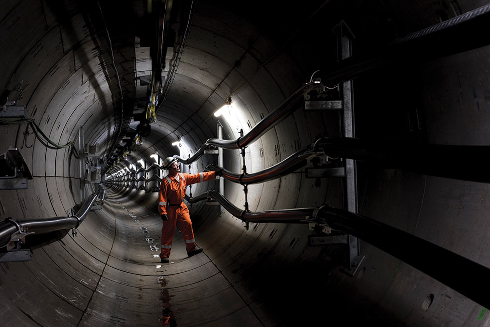 New tunnel will house high voltage electricity cables