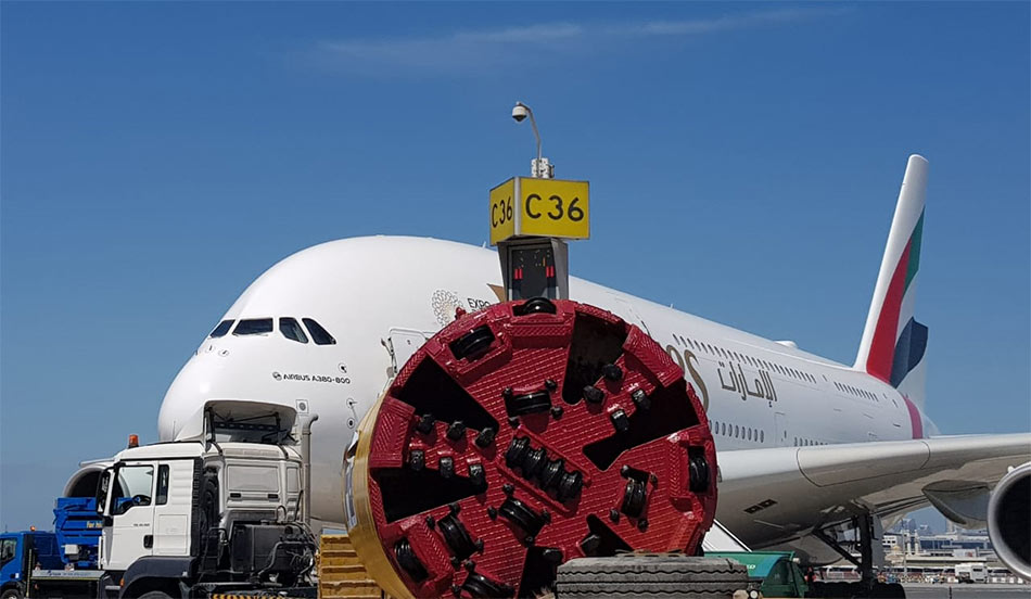 TBM ready for Dubai runway drive