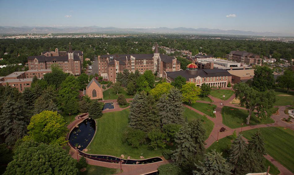 University of Denver campus, Colorado