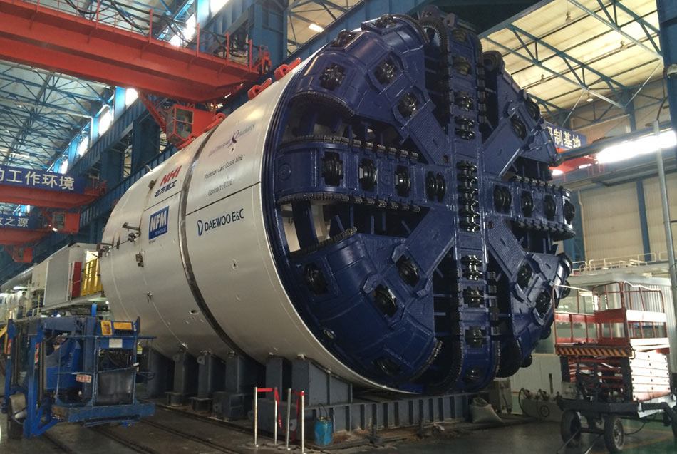 NFM TBM on Thomson metro, Singapore