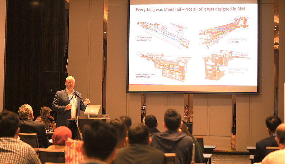 Ronan Collins on the use of BIM on the KVMRT line 2 project
