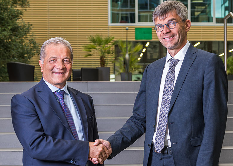 New CEOs Gilberto Cardola (left) and Martin Gradnitzer (right)