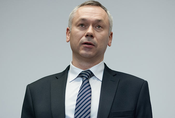 Andrew Travnikov, the Governor of the Novosibirsk region, who personally controls implementation of the project