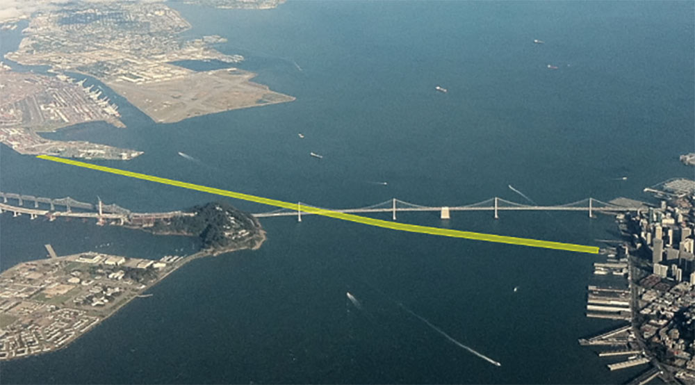 Plan for second crossing of San Francisco Bay for BART
