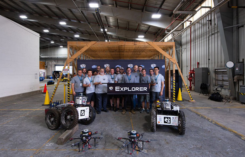First stage winner: Team Explorer
