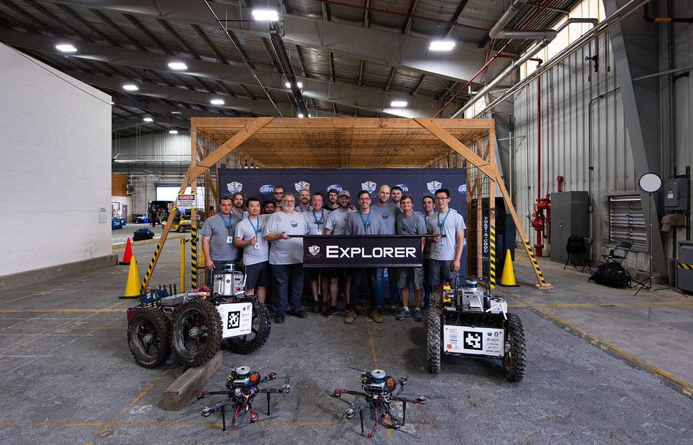 First stage winner: Team Explorer