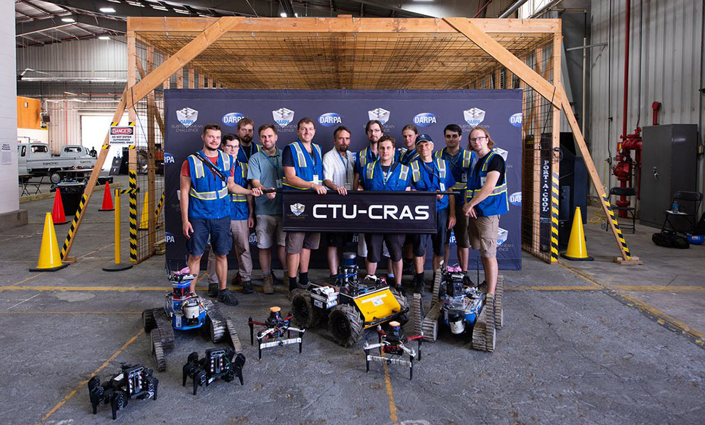 First race: third place to privately funded CTU-CRAS