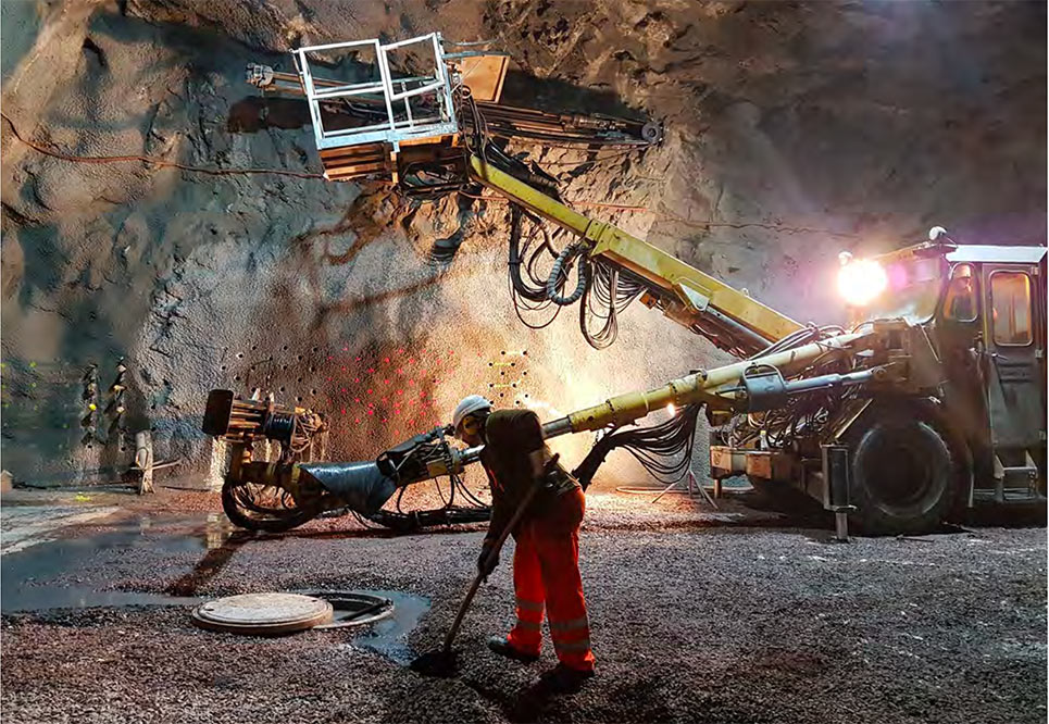 R&D in the fields of tunnelling and mining
