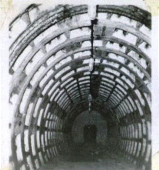 Tangqiao experimental shield tunnel