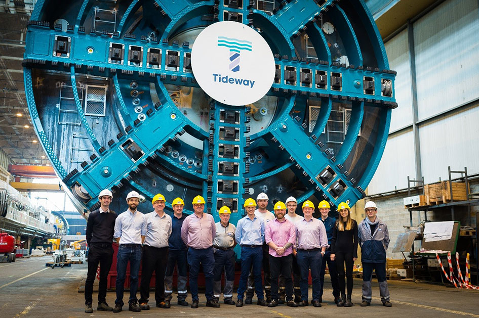NFM TBM ready for Tideway in UK