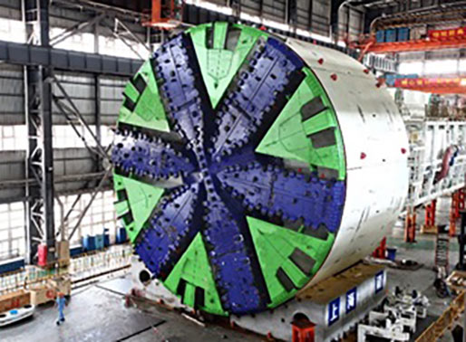 Compact TBM for navigating tight S curves