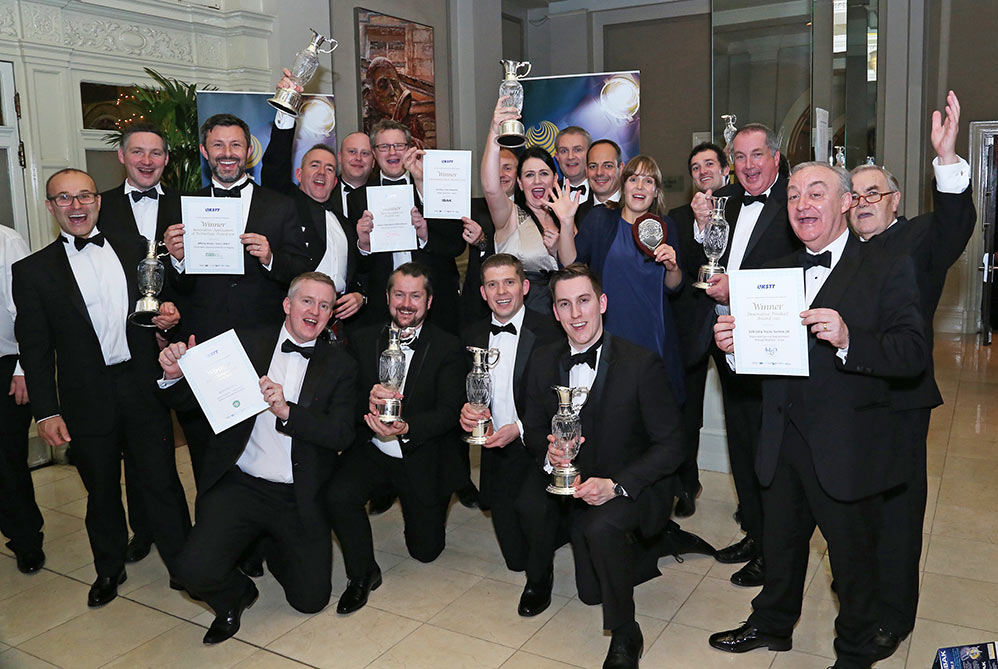 Winners of the 2017 UKSTT Awards