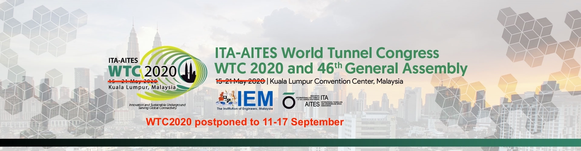 WTC2020 postponed from May to September 20