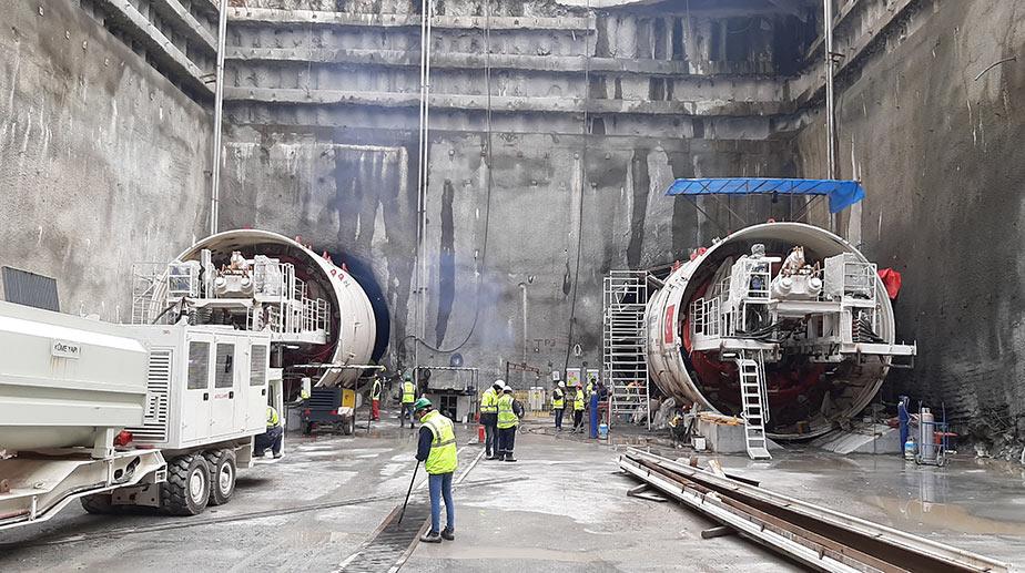 New 6.56m diameter EPBMs