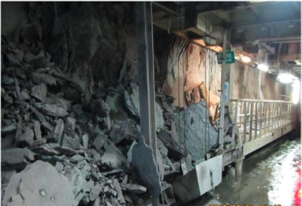 Safety risk and TBM damage from rockbursting