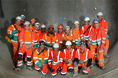 Crew of the Hammersmith connector