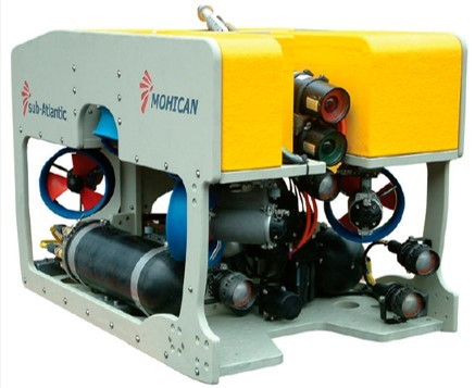 ROV designed to operate in high current conditions