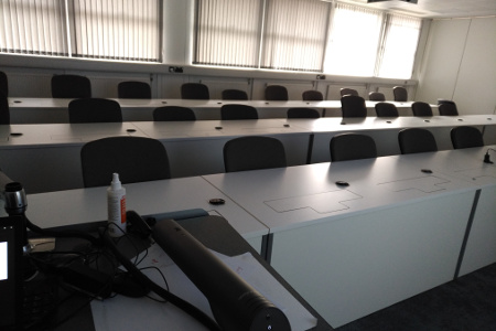 Signs of the times: Empty streets, empty meeting rooms