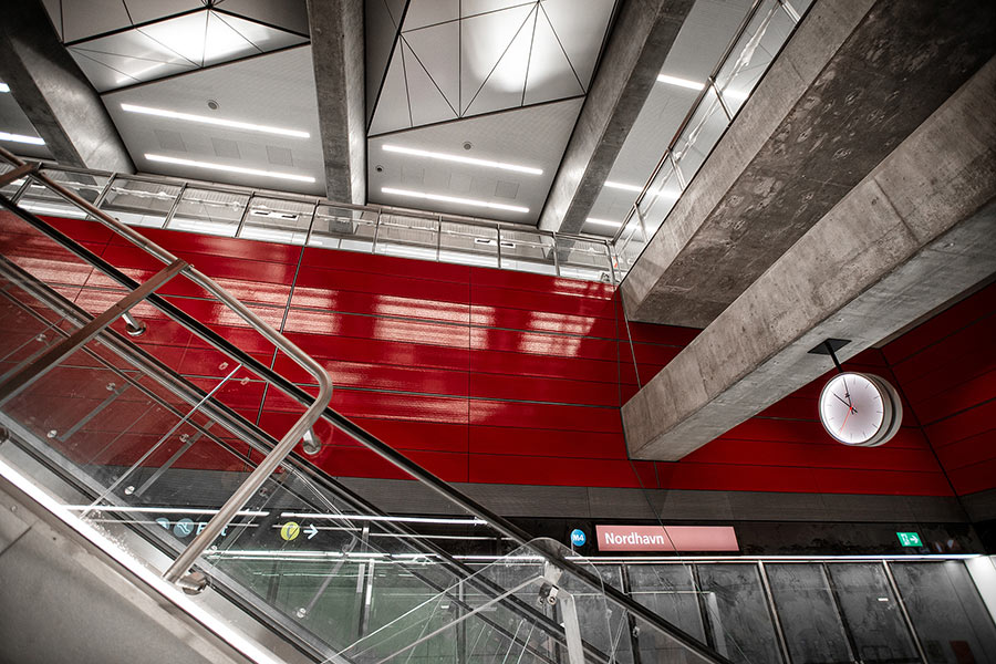 Copenhagen Metro Line 4 Nordhavn extension finished but awaiting its grand opening