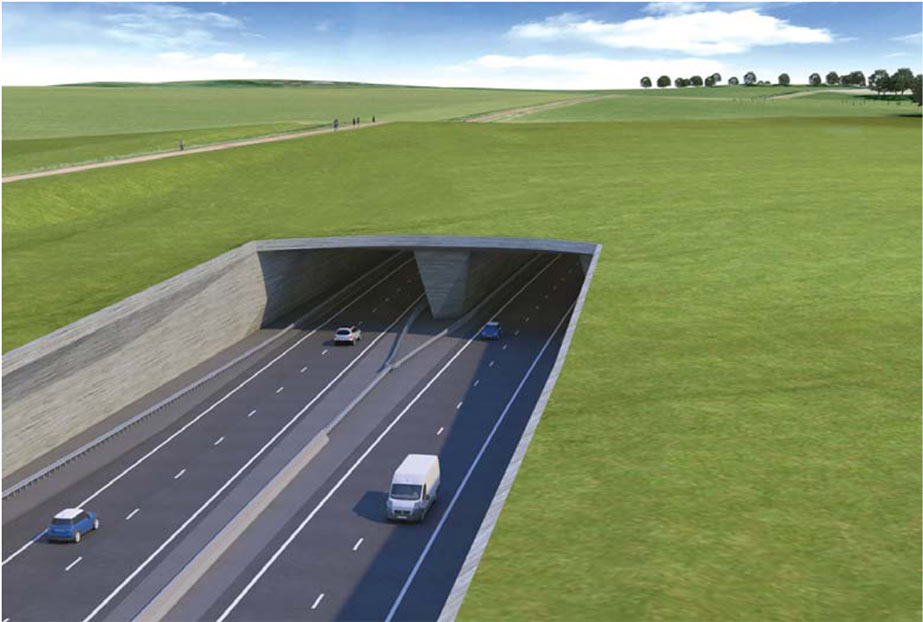 Funding agreed for proposed A303 road link