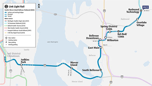 Fig 4. $1.6 billion 14 mile East Link