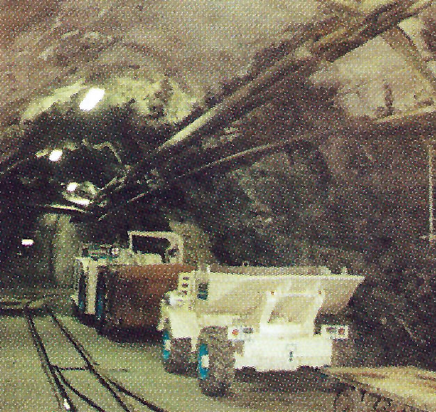 Where previously it was rockbolting systems which received concentrated research and development at Hagerbach, today it is the turn of shotcrete, particularly the wet mix techniques which were specified for use on the Vereina tunnel and will also be used on the long NEAT base line tunnel projects.