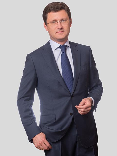 Alexander Novak, the Russian Minister of Energy