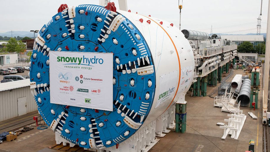 Two Herrenknecht TBMs will bore the headrace, inclined pressure shaft and ECVT
