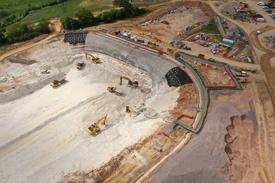 The largest construction site on HS2