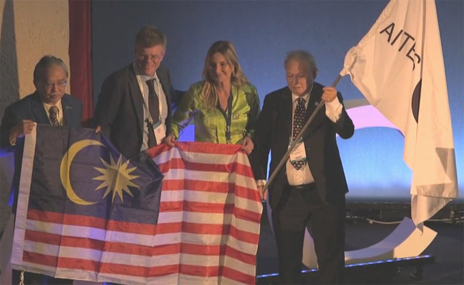It was at the WTC in Naples 2019 that the ITA flag passed to Malaysia for WTC 2020