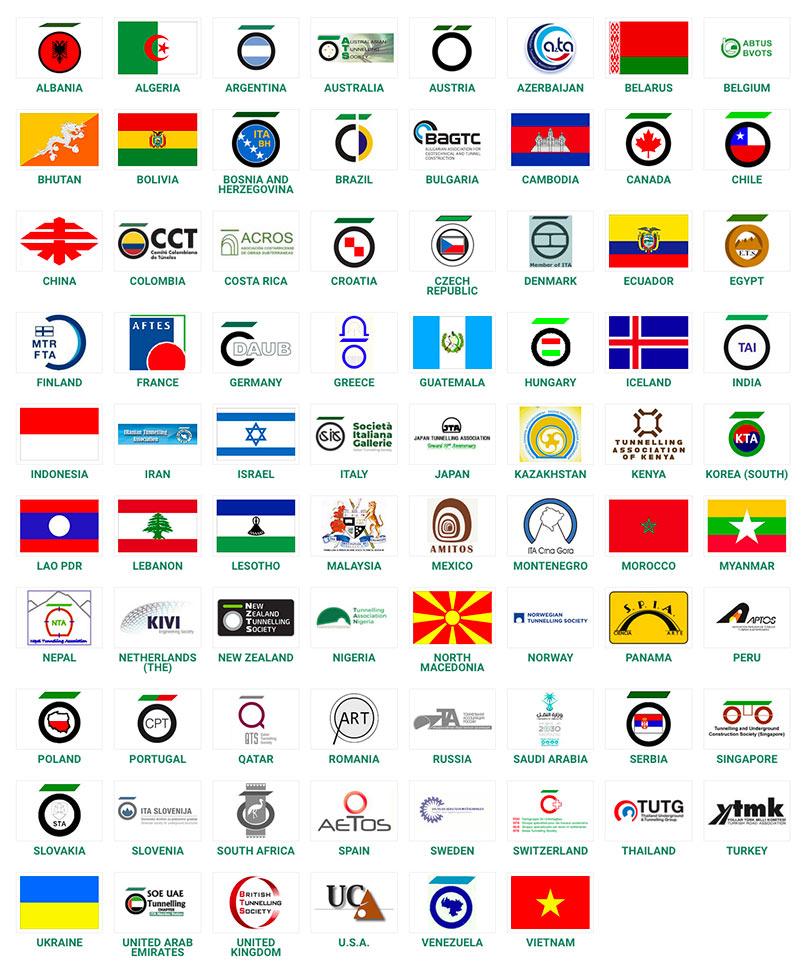 78 Member Nations of the ITA