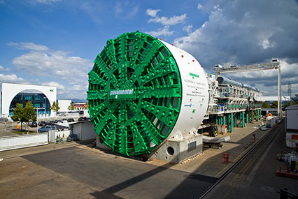 15.87m diameter TBM work on expansion of the Italian Autostrada A1