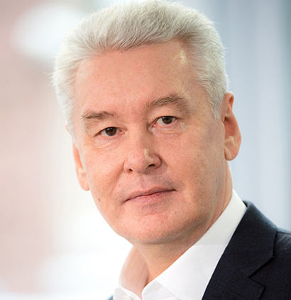 Moscow Mayor <br>Sergey Sobyanin