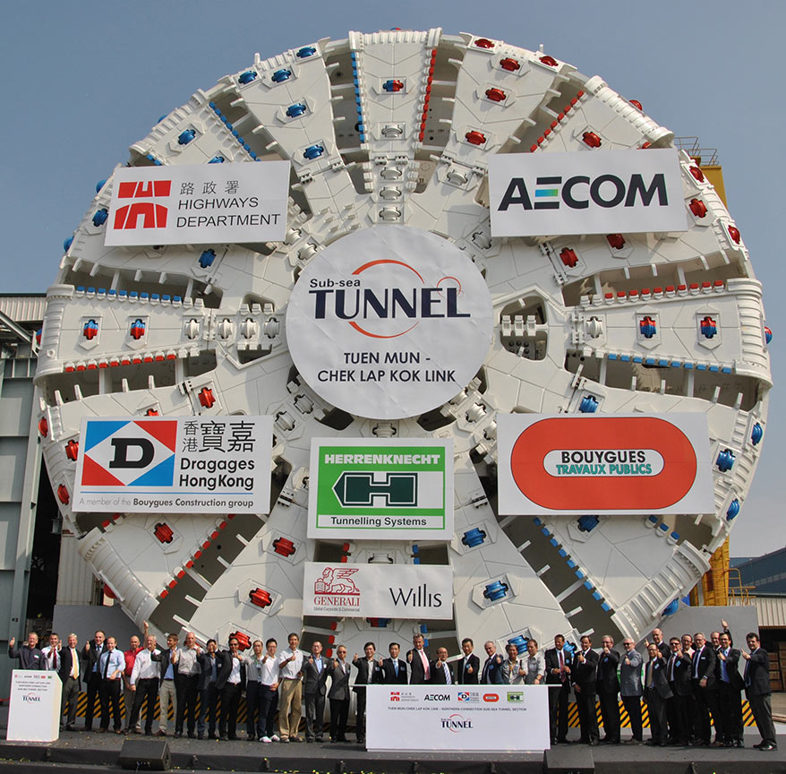 The 17.6m TBM for the Tuen Mun-Chek Lap Kok subsea highway in Hong Kong had capabilities engineered in by the design-build contractor, its design engineer and the engaged TBM manufacturer
