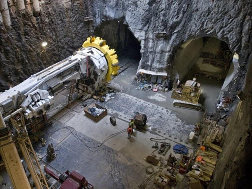 Hard rock TBM under a design-bid-build contract for the 2<sup>nd</sup> Avenue Subway in New York