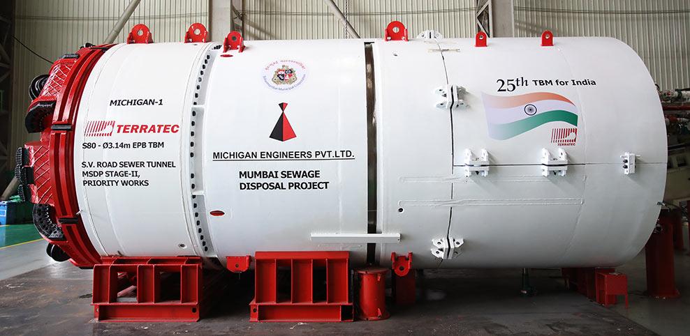 Terratec 3.14m diameter EPBM