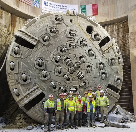 Dugway TBM broke through in March 2018