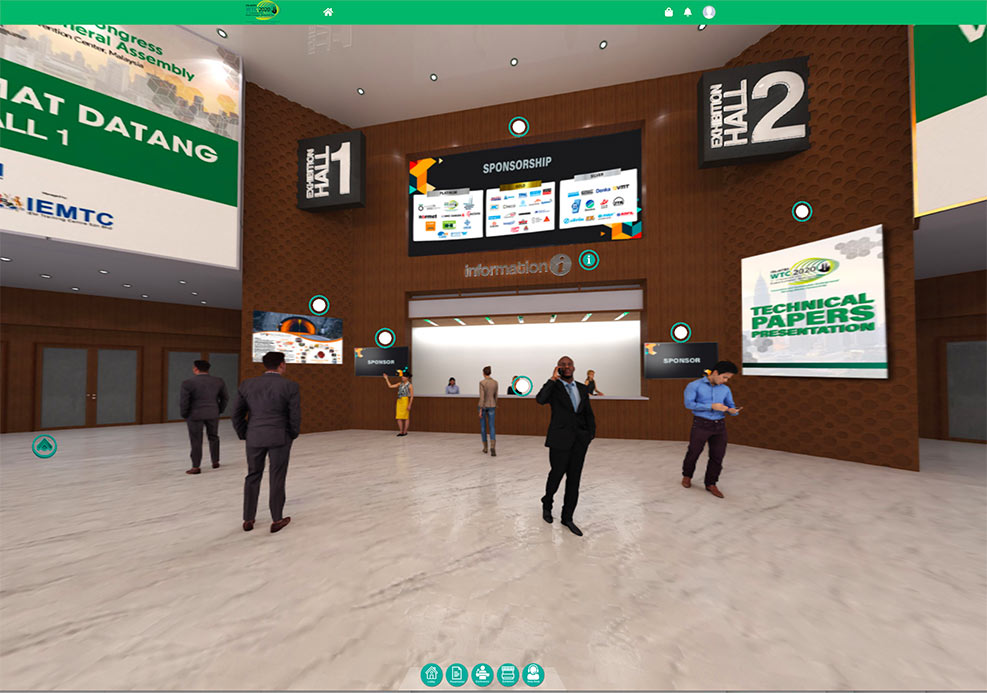 Lobby to the virtual congress