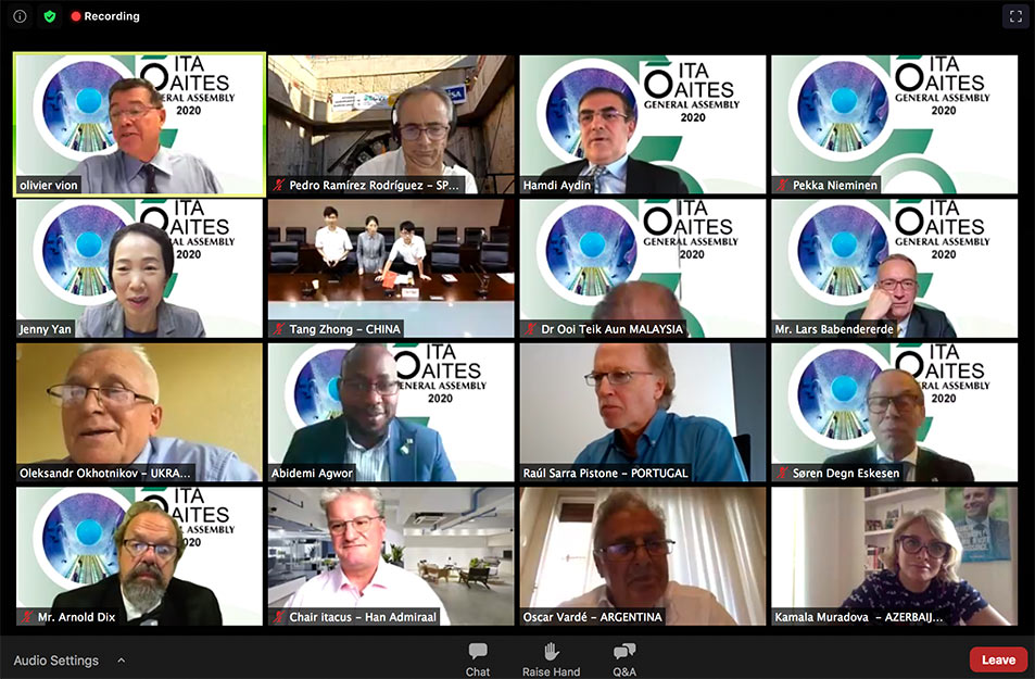Virtual General Assembly for the ITA in 2020