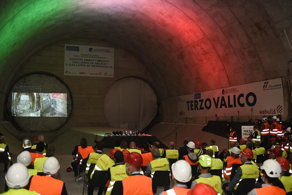 Double breakthrough for the Genoa-Milan high speed rail